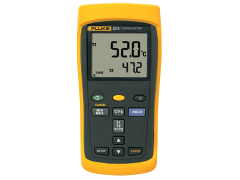 fluke 50 series ii thermometers pdf