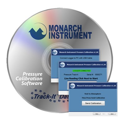 Monarch Track-It Pressure Calibration Software