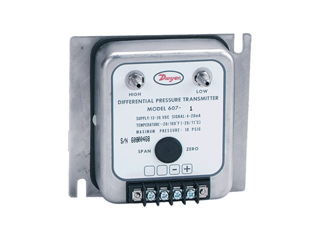 Dwyer 607 Differential Pressure Transmitters