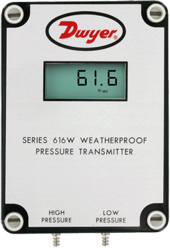 Dwyer 616W Differential Pressure Transmitter