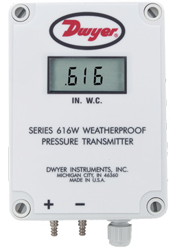 Dwyer 616WL Differential Pressure Transmitter