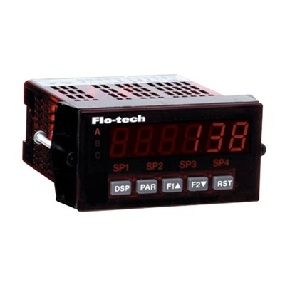 Flo-tech F6600 / F6650 Series Rate Counter Digital Display