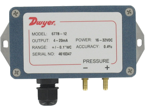 Dwyer 677B Differential Pressure Transmitters