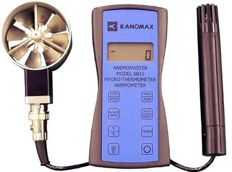Kanomax 6800 Series Digital Anemometers