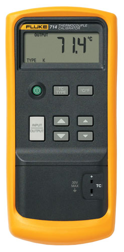 Fluke 714 Thermocouple Calibrator