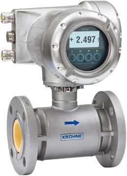Krohne OPTIFLUX 7300 Electromagnetic Flow Meter