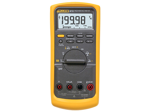 Fluke 87V Industrial True-RMS Multimeter with Temperature