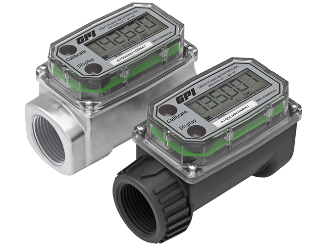 Flomec GPI A1 Turbine Flow Meter with Q9 Display