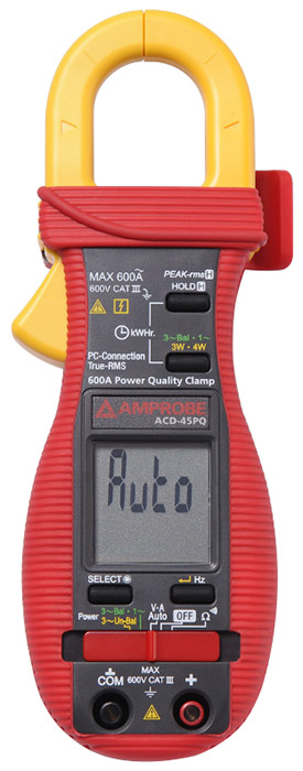 Amprobe ACD-45PQ Power Quality Clamp Meter