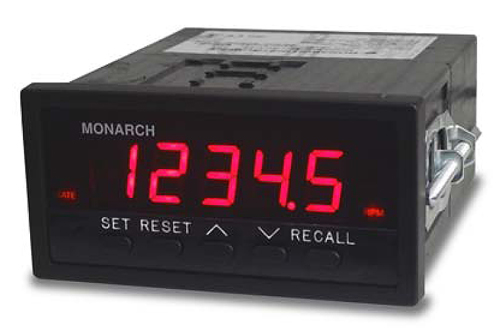 Monarch ACT-3X Tachometer / Totalizer