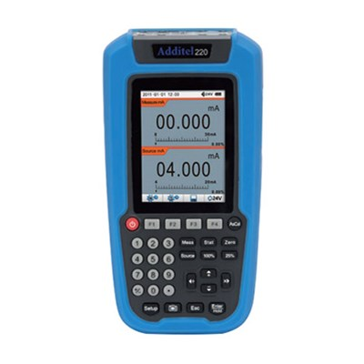 Additel ADT 220 Multifunction Loop Calibrator