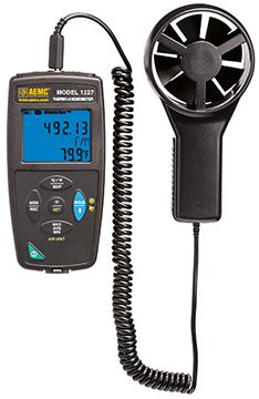 AEMC 1227 Thermo-Anemometer Data Logger