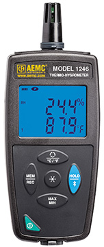 AEMC CA1246 Thermo-Hygrometer Data Logger