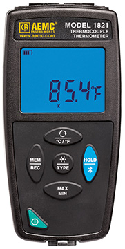 AEMC 1821 Thermometer Data Logger