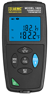 AEMC 1822 Thermometer Data Logger