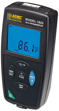AEMC 1823 RTD Thermometer Data Logger