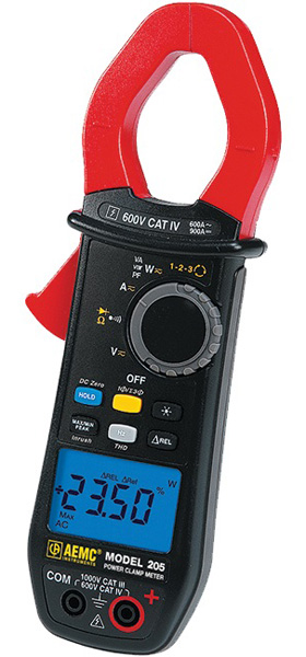 AEMC Model 205 Clamp On Meter