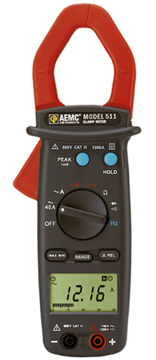 AEMC Model 511 Clamp-On Meter