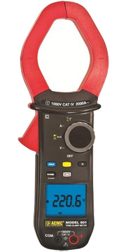 AEMC Model 601 TRMS Clamp On Meter