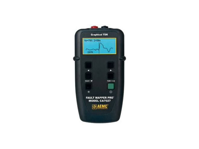 AEMC Fault Meter Pro CA7027 Cable Tester