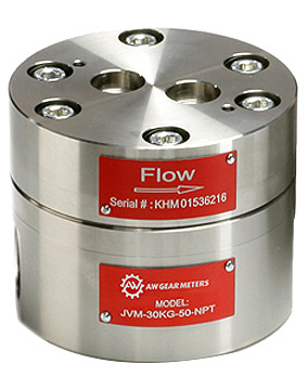 AW Gear Meters JV-KG Series Flow Meter