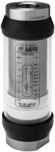 Lake Monitors Basic In-Line Liquid Flow Rate Meter