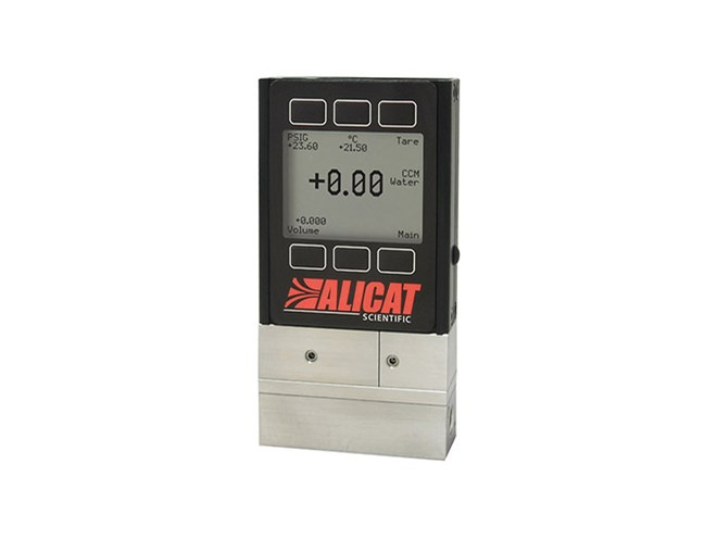 Alicat Scientific Volumetric Liquid Flow Meters and Controllers