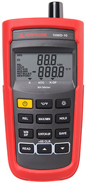 Amprobe THWD-10 Humidity and Temperature Meter