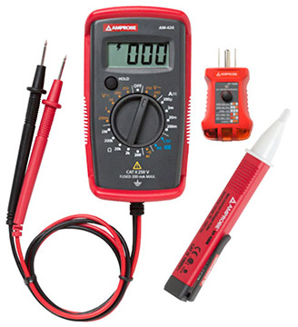 Cool Amprobe Pk 110 Electrical Test Kit Electrical Testing Kits Wiring Digital Resources Cettecompassionincorg