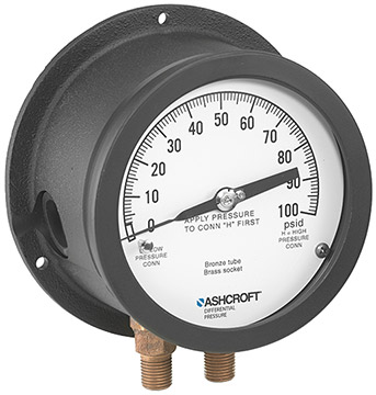 Ashcroft 1125 / 1125A Differential Pressure Gauges