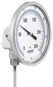 Ashcroft EL Series Bimetal Thermometers