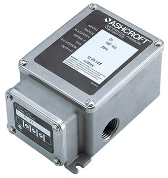 Ashcroft IXLdp Series Differential Pressure Transmitters