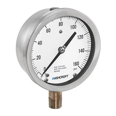 Ashcroft 1009 Analog Pressure Gauges