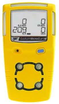 Honeywell BW MicroClip XL Multi-Gas Detector