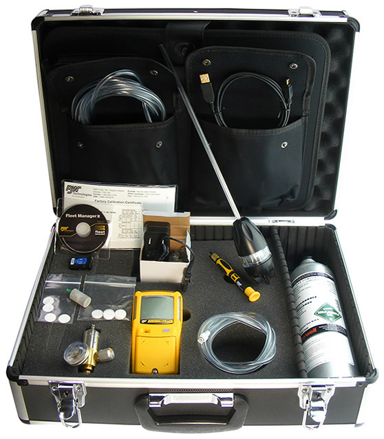 BW technologies GasAlertMax XT II Confined Space Kit