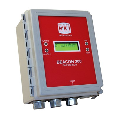 RKI Instruments Beacon 200 Gas Controller