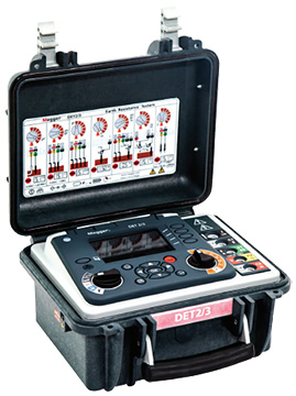 Megger DET2/3 Digital Ground Resistance Tester