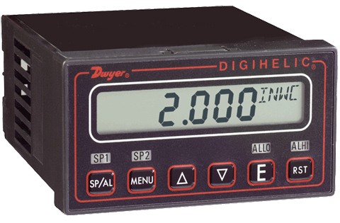 Dwyer Digihelic Series Differential Pressure Controller