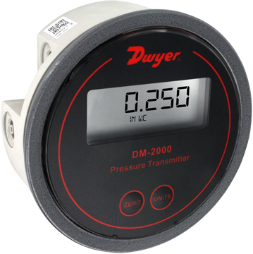 Dwyer DM-2000 Differential Pressure Transmitter