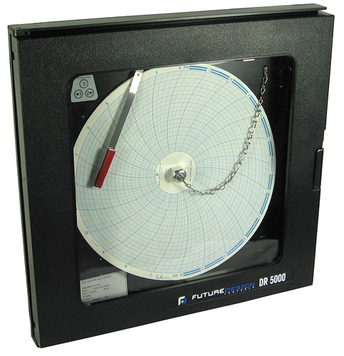 Future design controls dr 5000 chart recorder circular chart