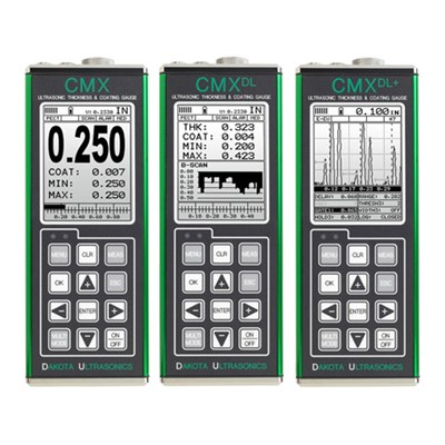 Dakota Ultrasonics CMX Series Thickness Gauges