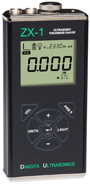 Dakota Ultrasonics ZX-1 Fixed-Velocity Thickness Gauge