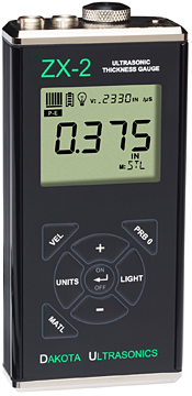 Dakota Ultrasonics ZX-2 Fixed-Velocity Thickness Gauge