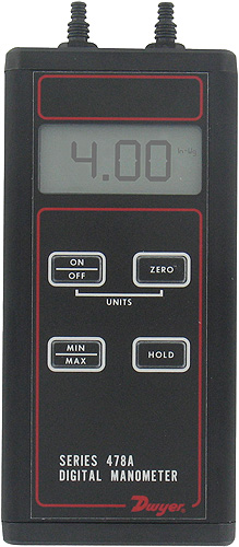 Dwyer 478A Series Digital Manometers