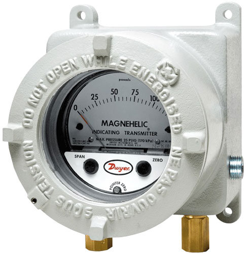 Dwyer AT2605 Series Magnehelic Indicating Pressure Transmitter