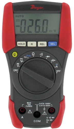 Dwyer MM-1 Multimeter