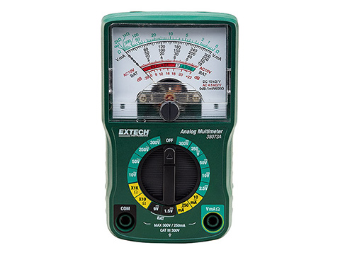 Extech 38073A Mini Analog Multimeter