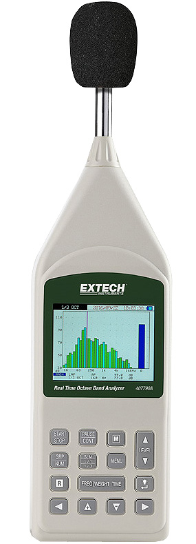 Extech 407790A Octave Band Analyzer