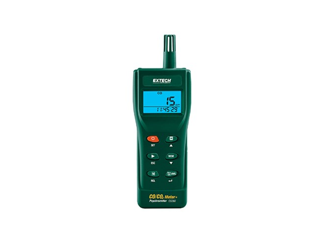 Extech CO260 Indoor Air Quality Datalogger