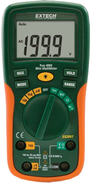 Extech EX205T True RMS Digital Multimeter
